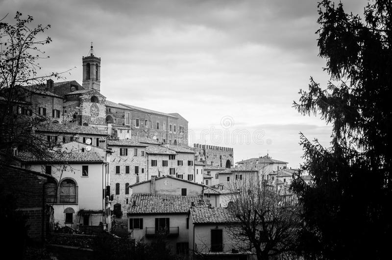 Tuscany - Montepulciano. Tuscany is known for its landscapes, traditions, history, artistic legacy and its influence on high culture. It is regarded as the royalty free stock photo