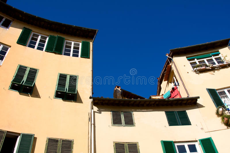Download Tuscany. Old Tenements In Lucca Stock Image - Image: 26572883