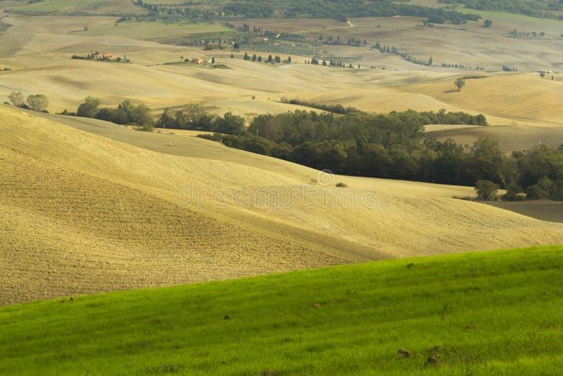 Tuscany rural landscape stock images