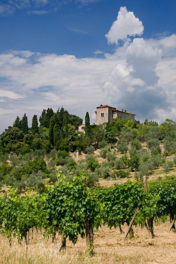 Tuscany Villa, Italy royalty free stock photos