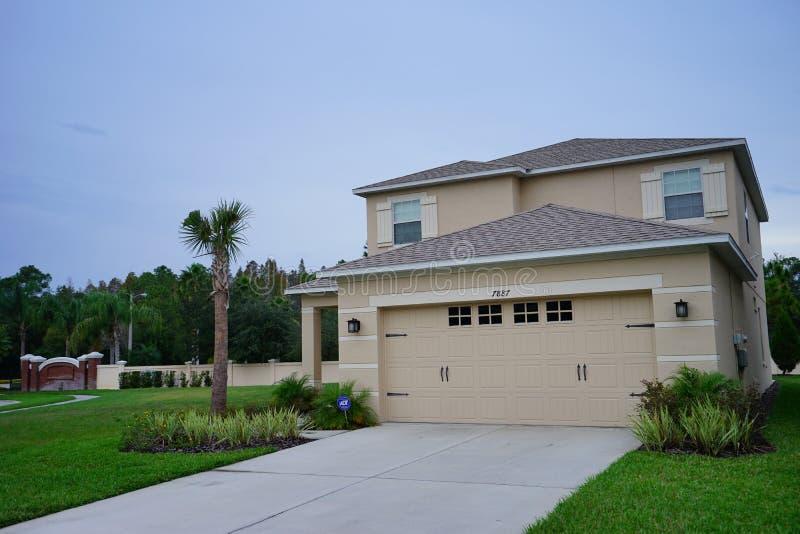 Tuscany w Tampa palmy społeczności fotografia stock