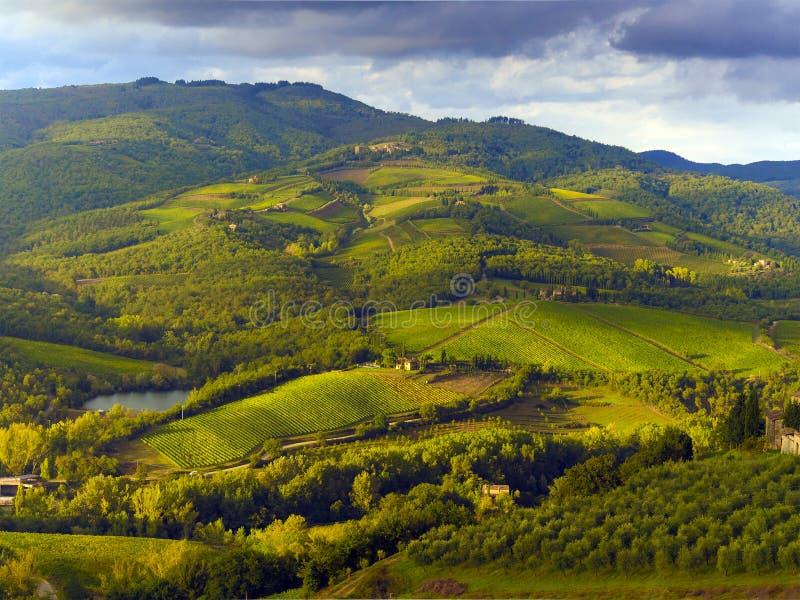 Tuscany wieś fotografia royalty free
