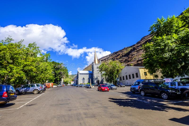 Tusen dollar ståtar Jamestown Saint Helena royaltyfria bilder