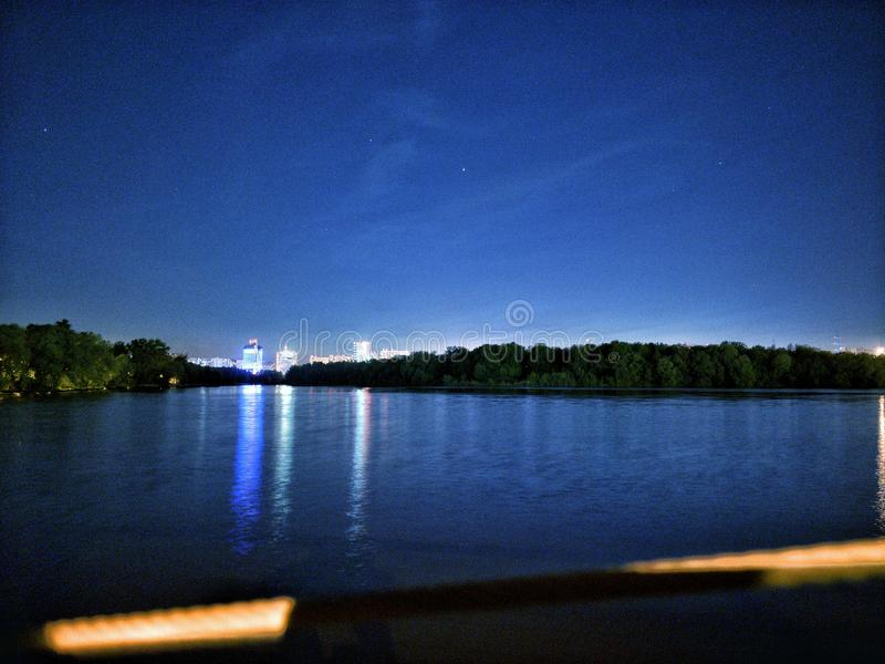 Tushino park moscow. Russia, asia, parks, walk, nightsky, stars, moon, student, studentlife, bluesky, sleeplessnights, beautiful, heavenly, amazing, wonderful stock photos