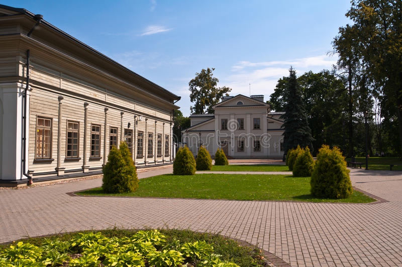 Tuskulenai-Landsitz in Vilnius, Litauen lizenzfreies stockfoto
