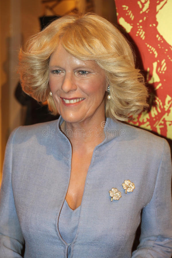 tussaud madame s duchess camilla cornwall стоковое фото