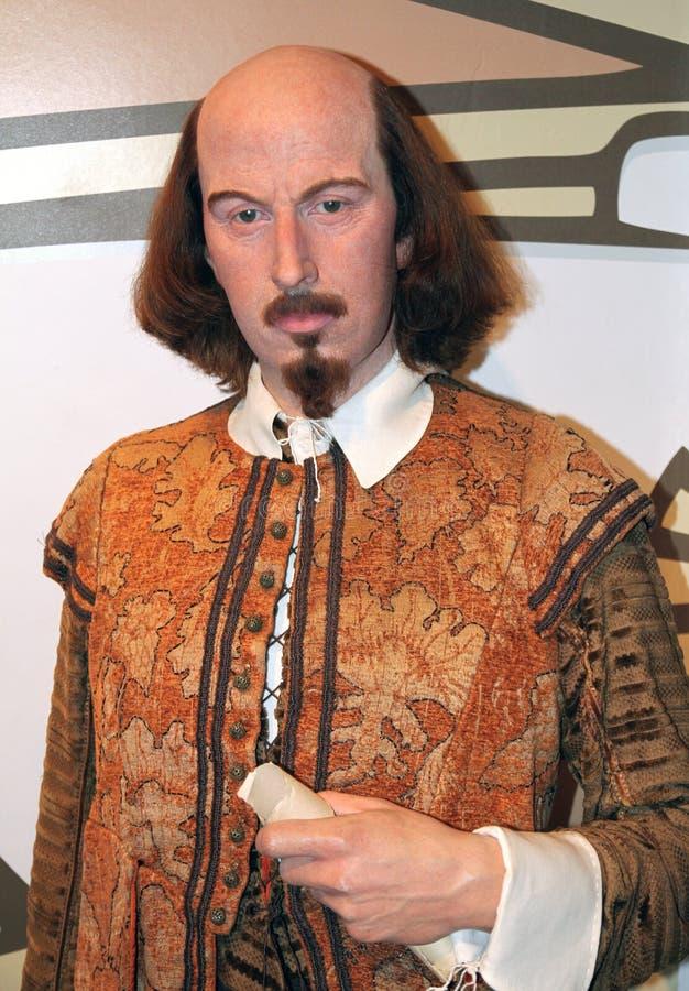 tussaud william för madame s shakespeare royaltyfri foto