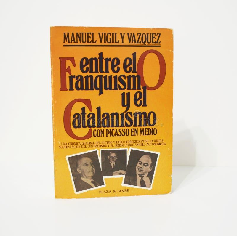 TUSSEN FRANCOISM EN CATALANISM royalty-vrije stock foto