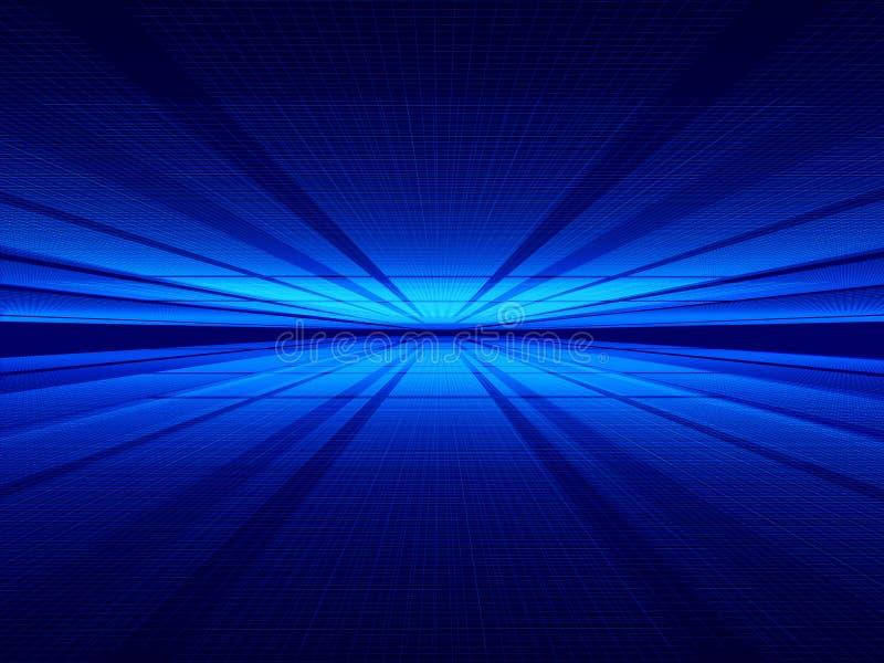 Tussen ruimten vector illustratie