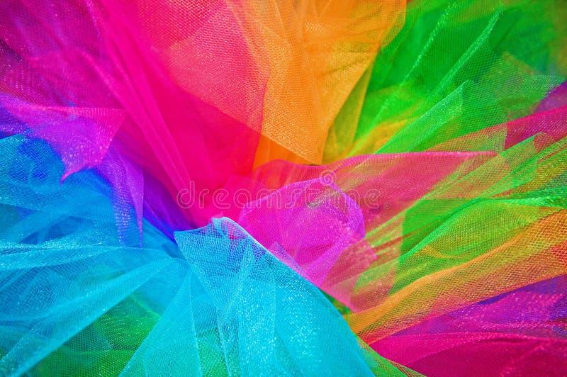 Tutú del arco iris fotografía de archivo