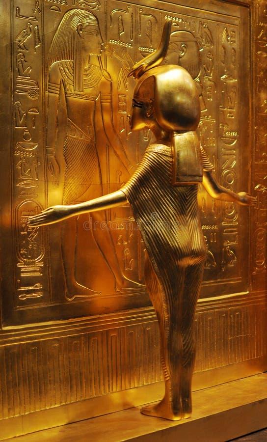 Tutanchamon skatt arkivfoton