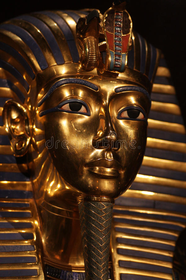 Tutankhamen.005 stockfotografie