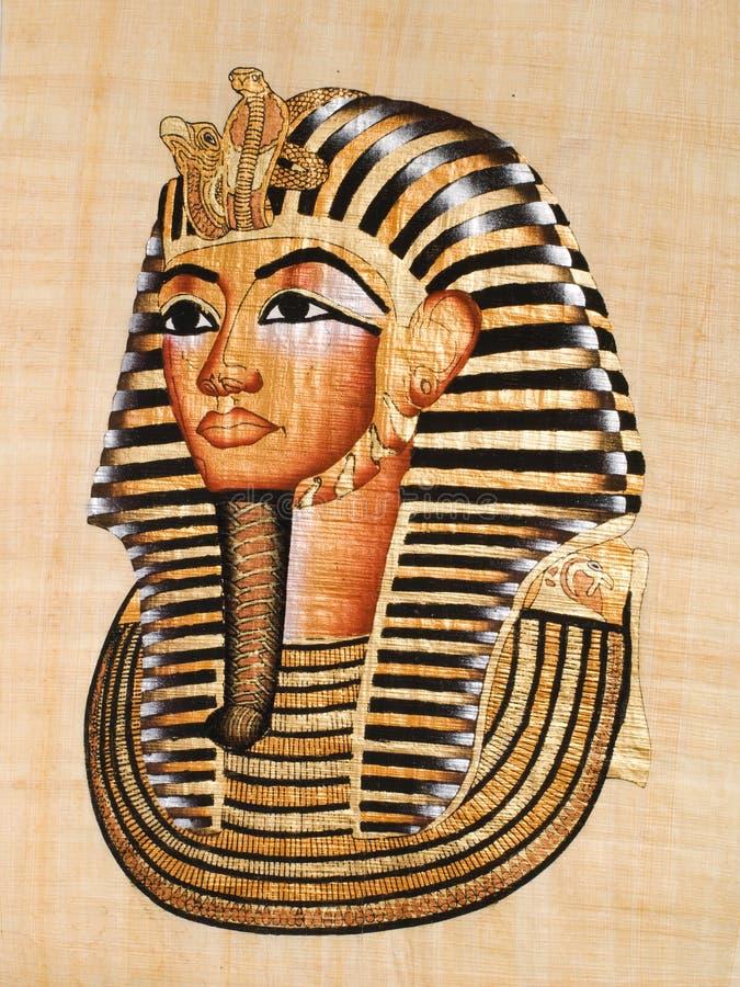 Tutankhamen's mask royalty free stock photos