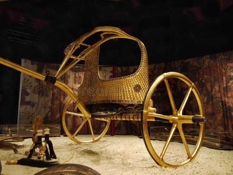 Tutankhamen - sa tombe et trésors image stock