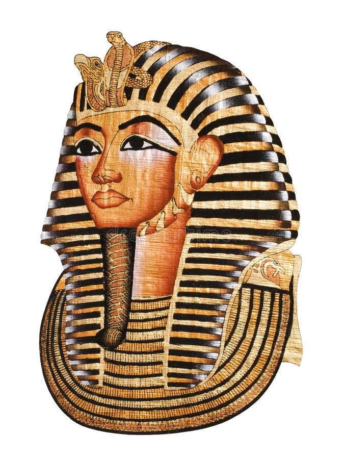Tutankhamen Schablone stockfoto