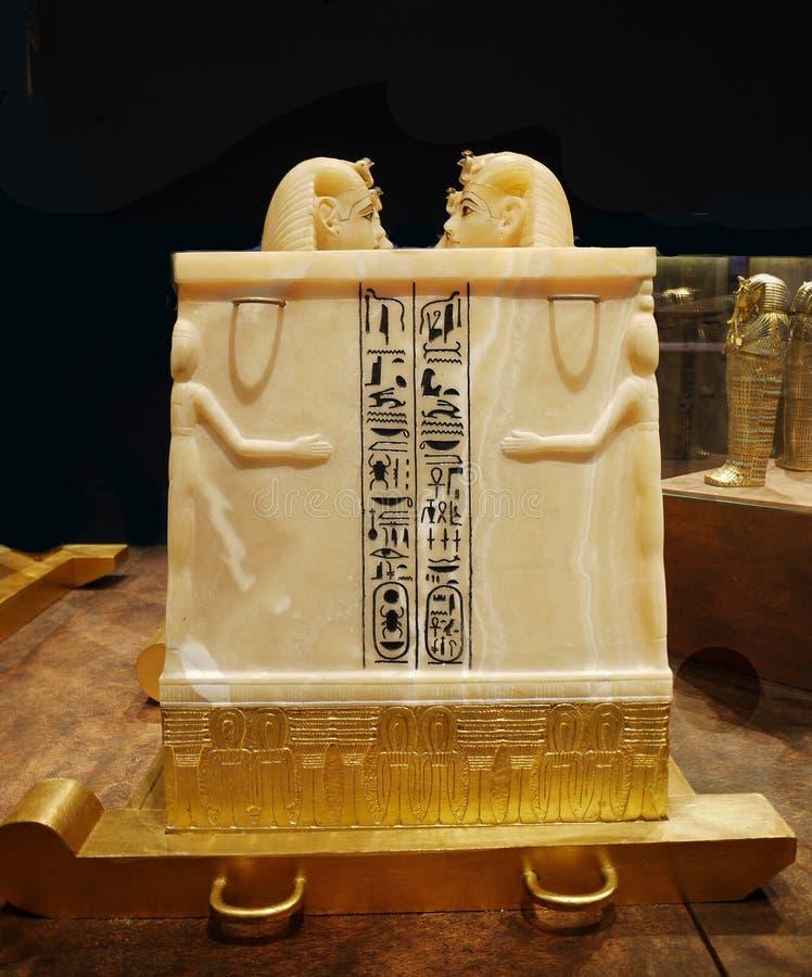 Tutankhamen - skatter fotografering för bildbyråer