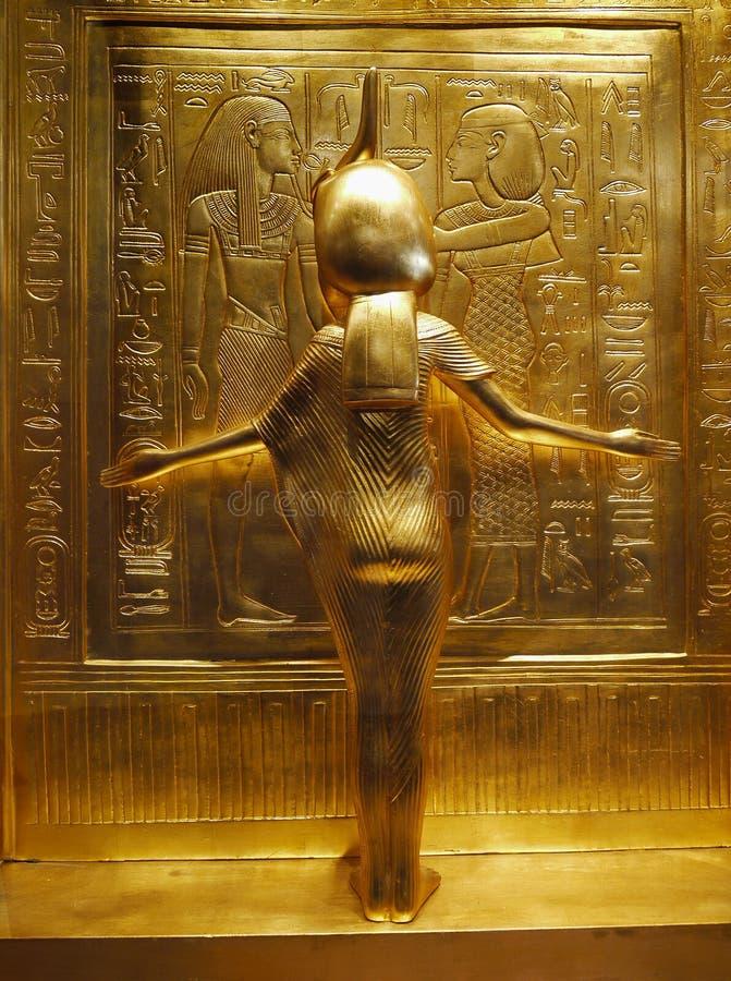 Tutankhamen - skatter royaltyfria bilder