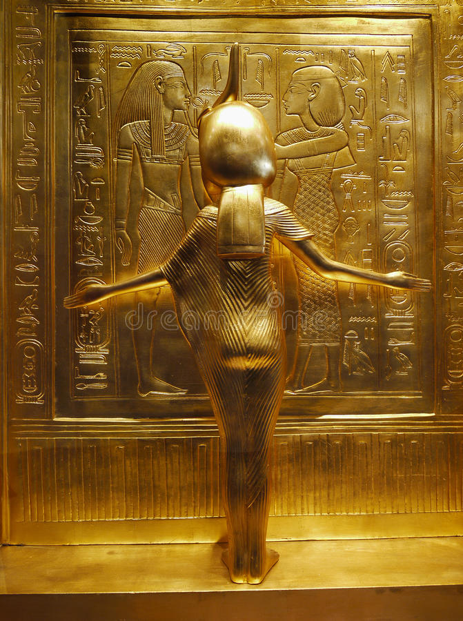 Tutankhamen - trésors images libres de droits