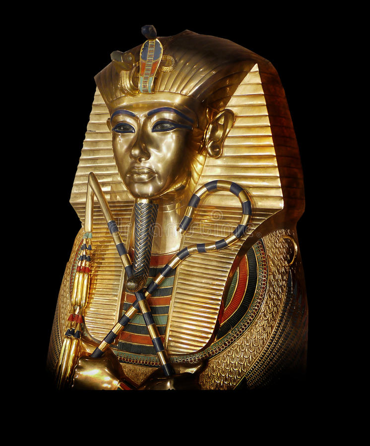Tutankhamun Αίγυπτος αρχαία στοκ εικόνες με δικαίωμα ελεύθερης χρήσης