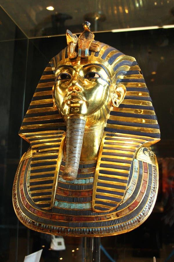 Tutankhamun στο αιγυπτιακό μουσείο στοκ εικόνα