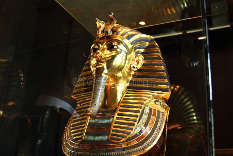 Tutankhamun στο αιγυπτιακό μουσείο στοκ φωτογραφία