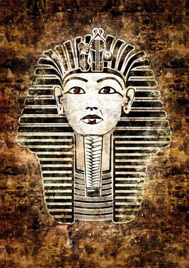tutankhamun διανυσματική απεικόνιση