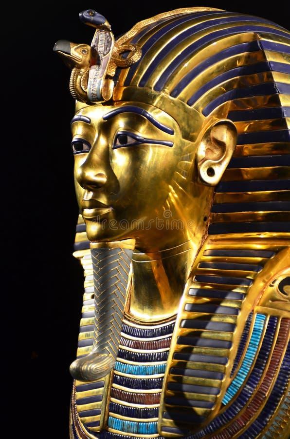 Tutankhamun lizenzfreies stockbild
