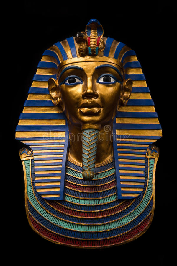 Tutankhamun imagenes de archivo