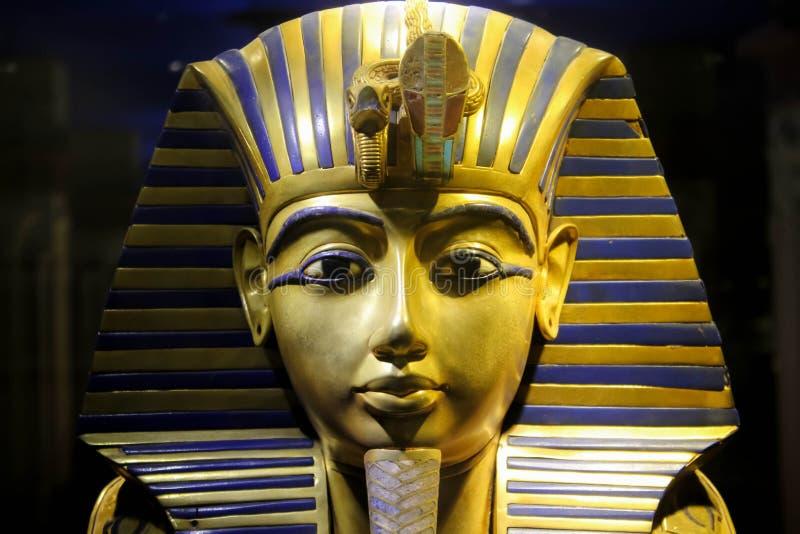 Tutankhamun imagens de stock