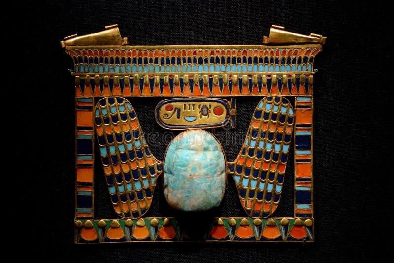 Tutankhamun-Ausstellung in Paris lizenzfreies stockfoto