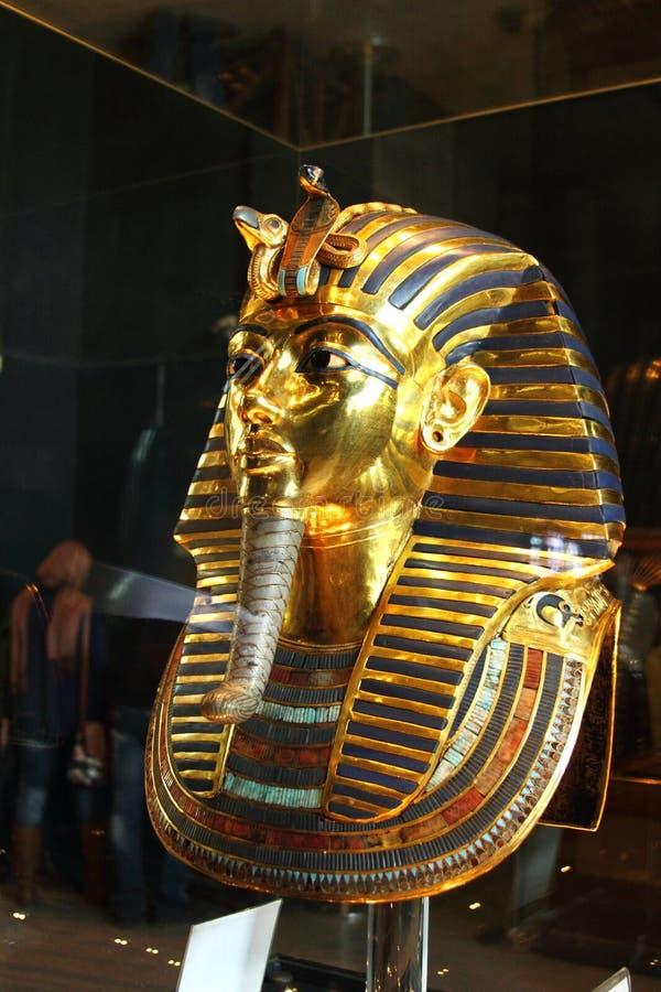 Tutankhamun im ägyptischen Museum stockfoto