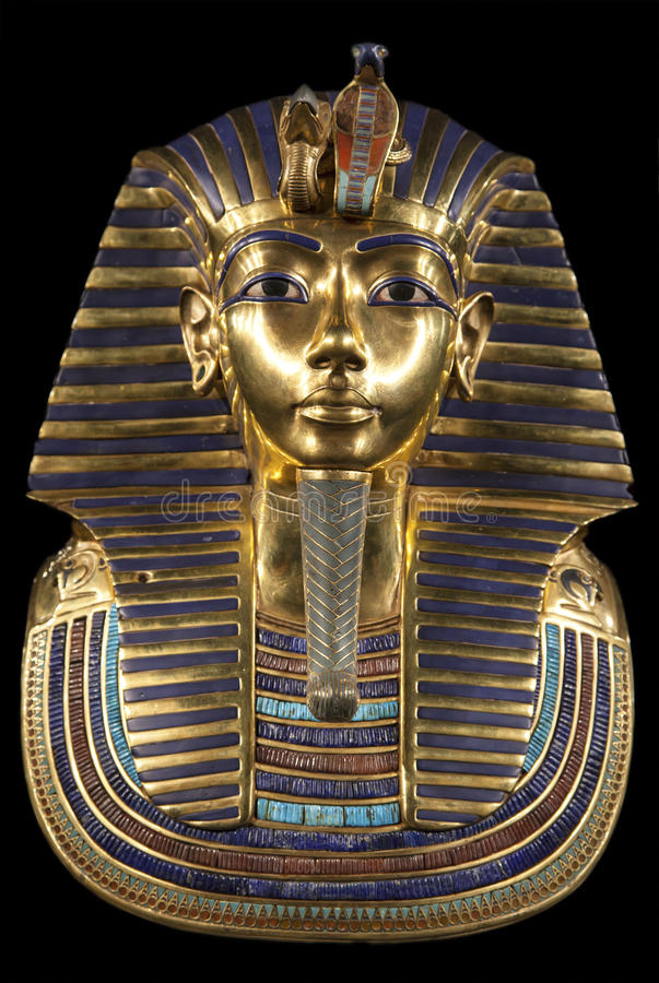 Free Tutankhamun S Burial Mask Stock Images - 48080984