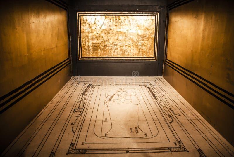 Tutankhamun's tomb stock photo