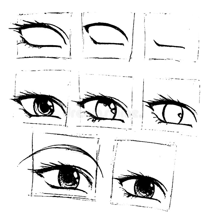 Anime Eye Stock Illustrations 2 096 Anime Eye Stock Illustrations Vectors Clipart Dreamstime