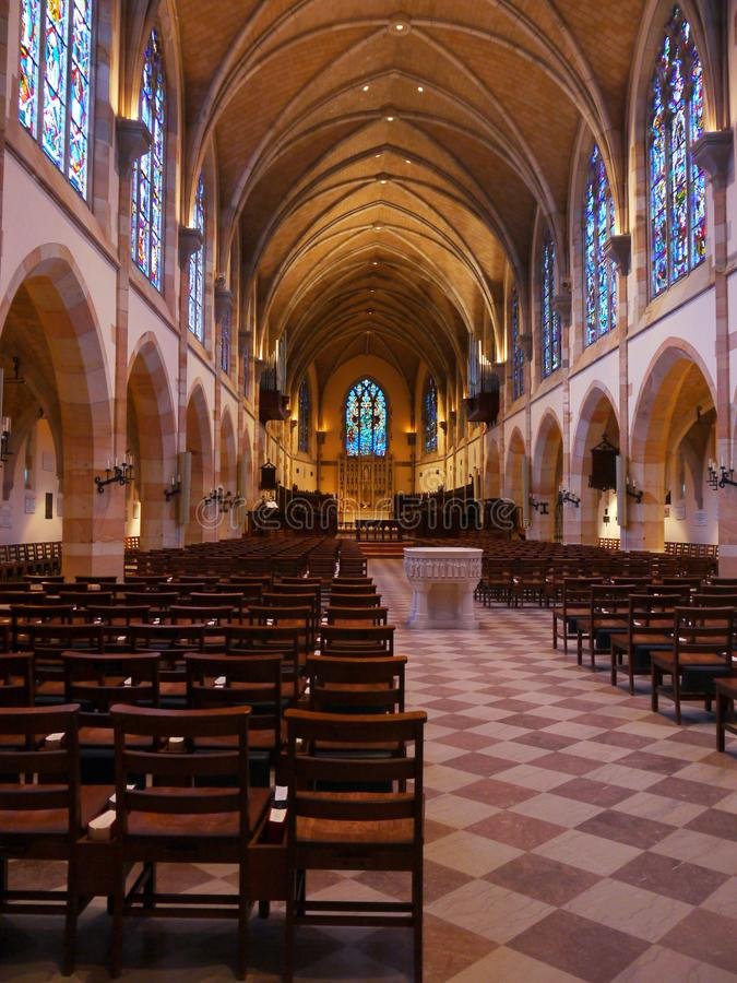 Tutta la cappella dei san--Sewanee, Tennessee fotografie stock libere da diritti