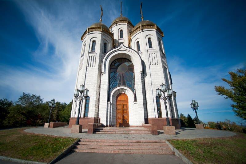 Tutta la chiesa dei san in Russia, Volgograd immagine stock libera da diritti