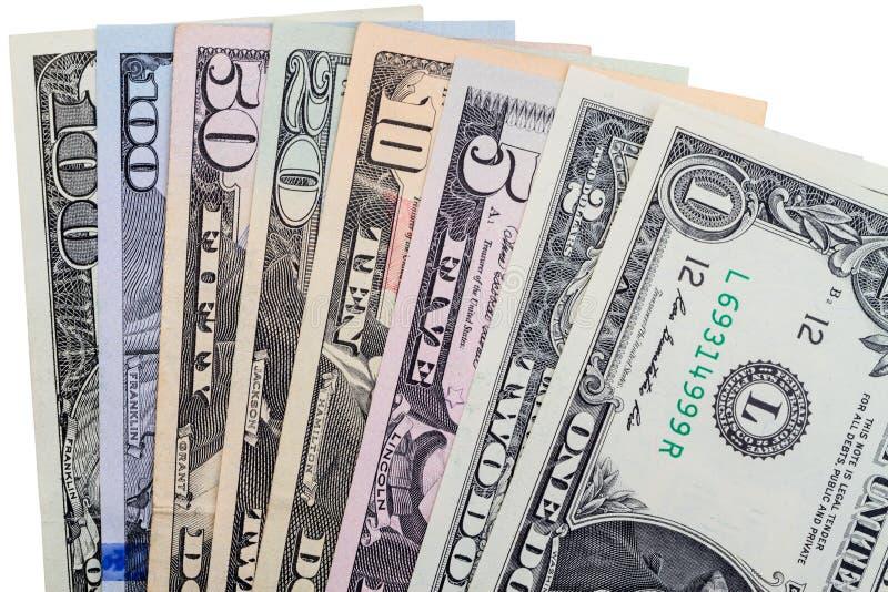 Tutti i tipi di dollari di carta immagine stock immagine - I diversi tipi di carta ...