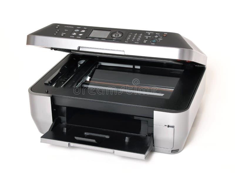 Tutti in una stampante a colori fotografie stock libere da diritti