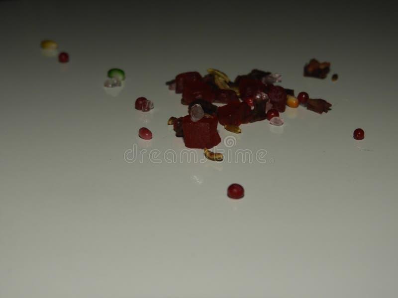 Tutty fruitig vers suikergoed royalty-vrije stock afbeelding