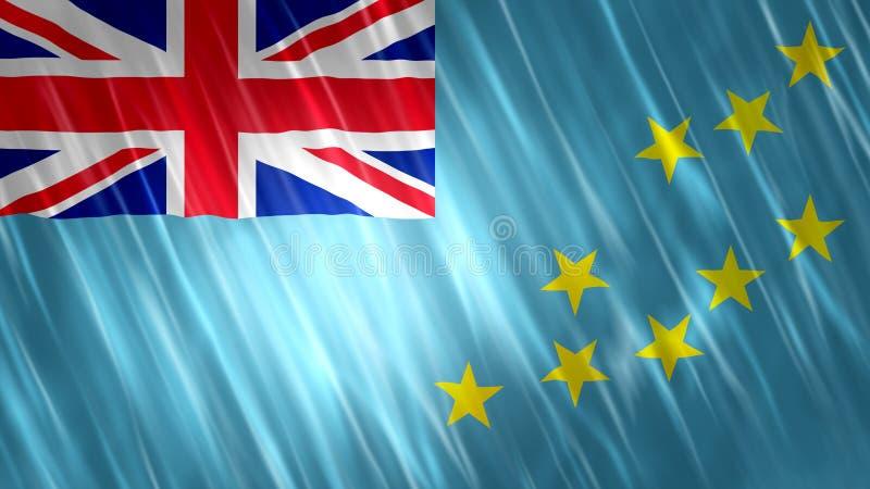 Tuvalu vlag vector illustratie