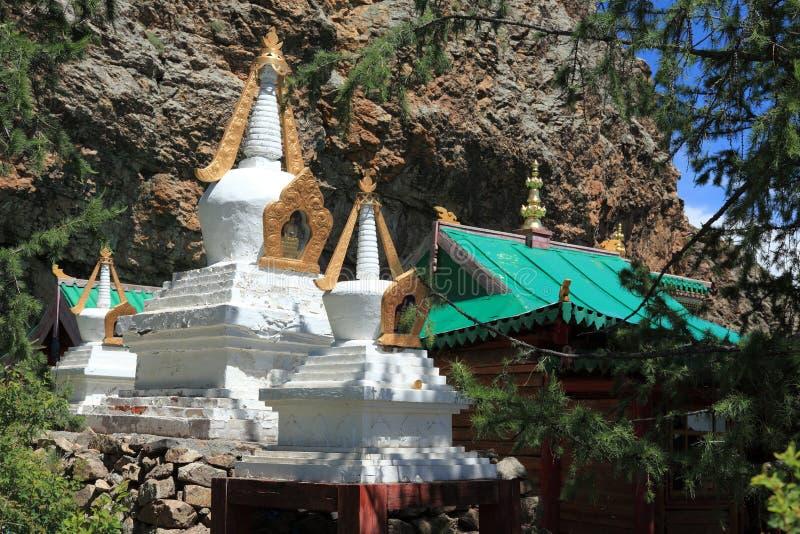 Tuvkhon修道院蒙古 库存照片