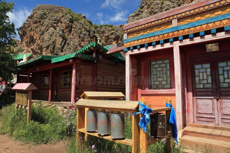 Tuvkhon修道院蒙古 库存图片