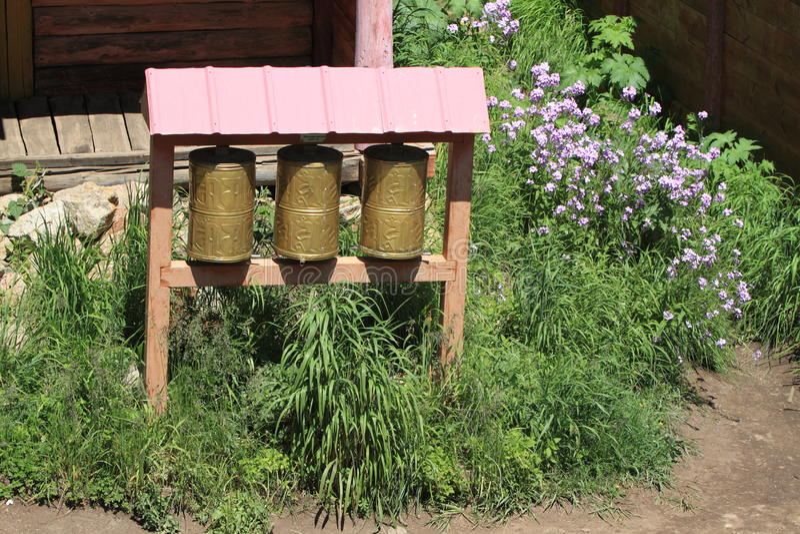 Tuvkhon修道院蒙古 免版税图库摄影