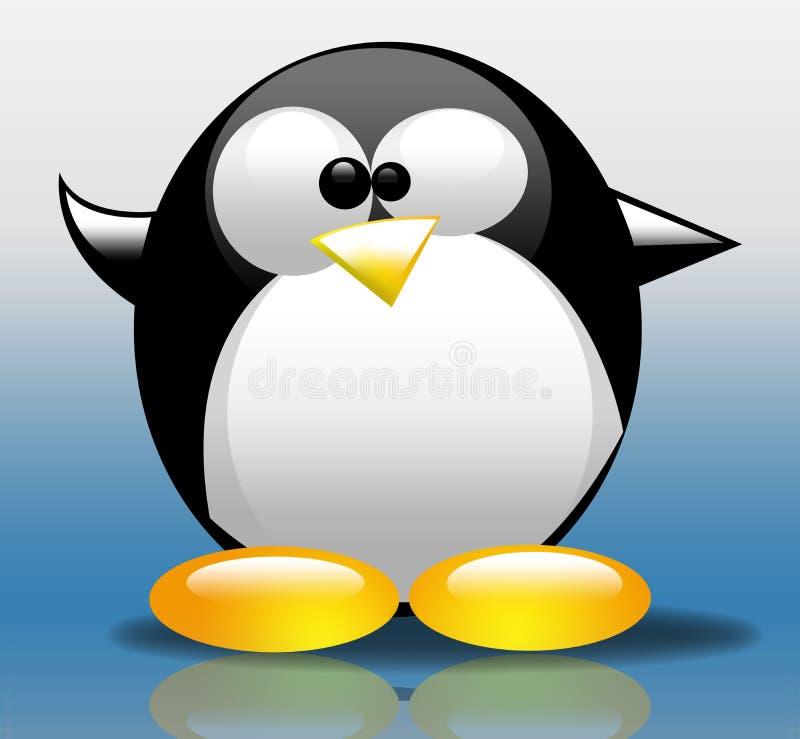 Download Tux Illustration stock illustration. Image of bird, illustration - 7495412