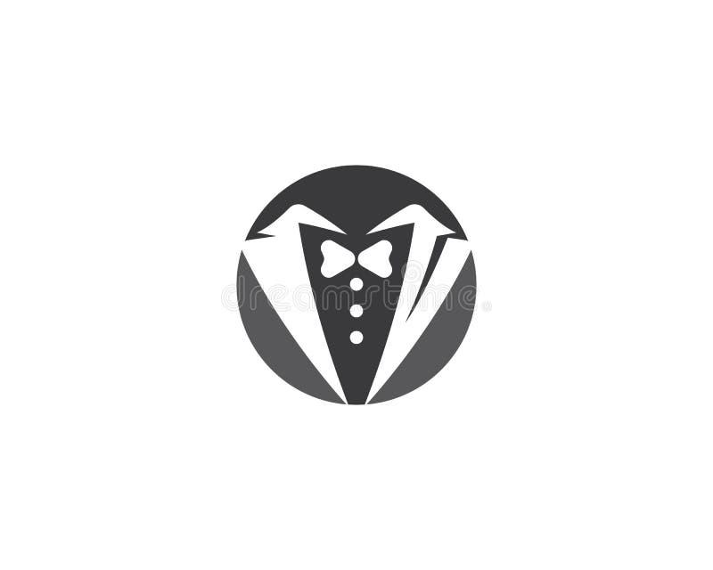 Tuxedo logo template vector illustration