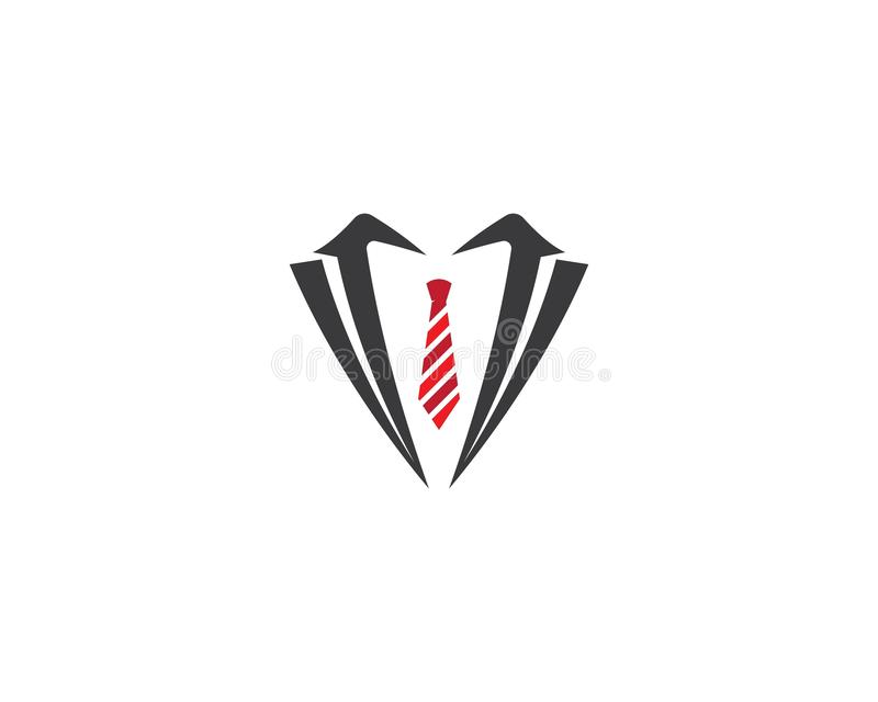 Tuxedo logo template royalty free illustration