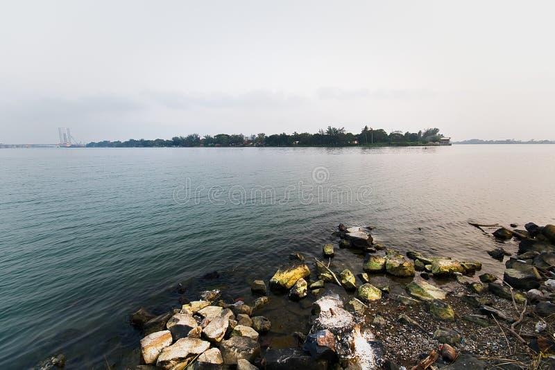 Tuxpan-Fluss, Mexiko lizenzfreies stockfoto