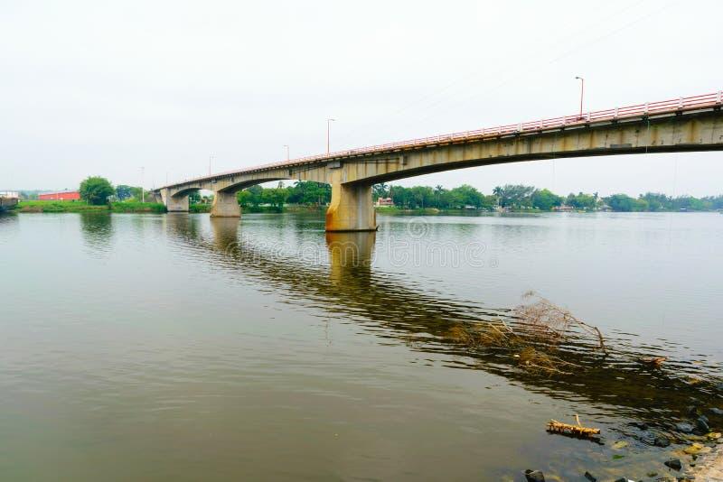 Tuxpan-Fluss, Mexiko lizenzfreie stockfotos