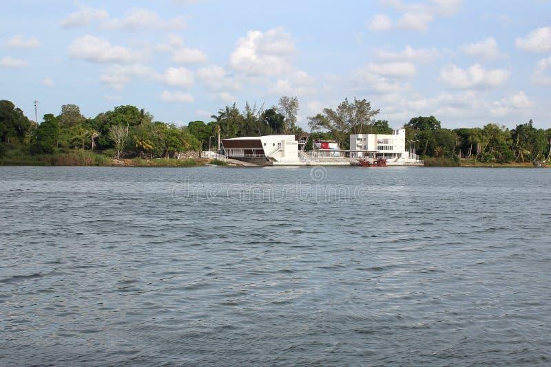 Tuxpan-Fluss, Mexiko lizenzfreie stockfotografie