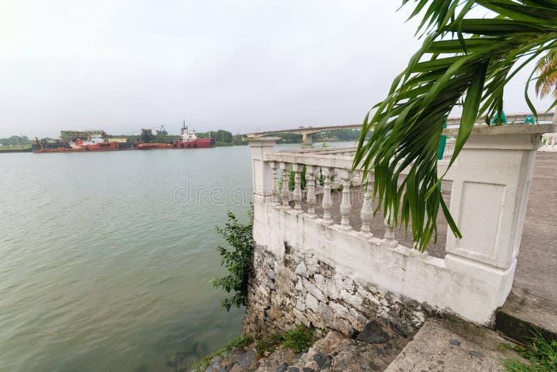 Tuxpan River, Mexico royalty free stock image